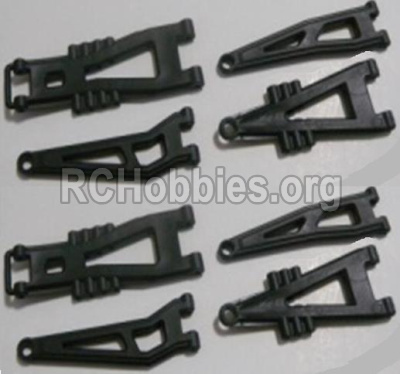 HBX Survivor MT 12811-Front And Rear Suspension Arms,Front And Rear Swing Arm(Total 8PCS) 12603