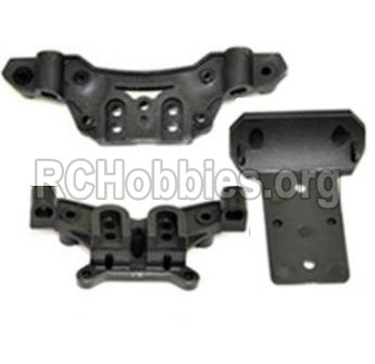 HBX Survivor MT 12811-Front and Rear shockproof board,Shock Absorbers board Parts