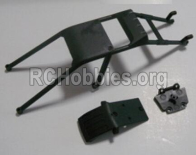 HBX Survivor MT 12811-Anti-roll cage and Front anti-collision(Can only be used for 12811B car) 12608