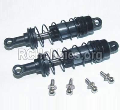 HBX Survivor MT 12811-Upgrade Metal Rear Aluminium shock set-12204