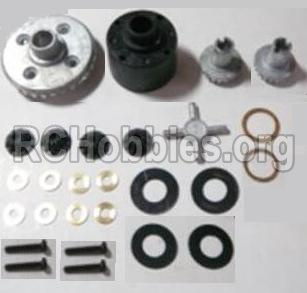 HBX Survivor MT 12811-Differentials Gear set 12611R