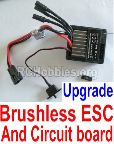 HBX Survivor MT 12811-Upgrade Brushless ESC and Receiver board together 12216