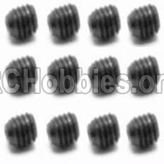 HBX Survivor MT 12811-Set Screw-3X3mm-S016