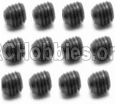 HBX Survivor MT 12811-Set Screw-3X4mm-S109