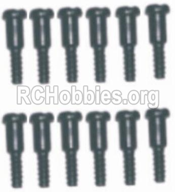 HBX Survivor MT 12811-Step Screws-3.5X4.5mm-3X4.6mm-S152
