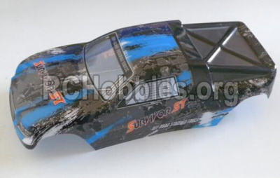 HBX Survivor MT 12811-Buggy Body shell,Car shell-Blue 12686