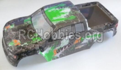 HBX Survivor MT 12811-Truck Body shell,Car shell-Green 12688