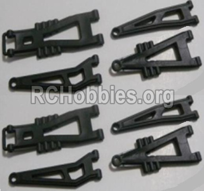 HaiBoXing HBX 12812 Front And Rear Suspension Arms,Front And Rear Swing Arm(Total 8PCS) 12603