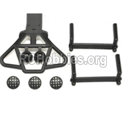 HaiBoXing HBX 12812 Front shockproof board,Front Shock Absorbers board & Column for the Car canopy(For Big truck) 12607