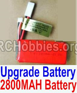 HaiBoXing HBX 12812 Upgrade Battery Upgrade 2800mah Battery-