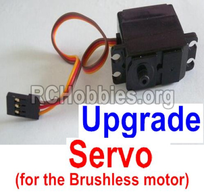 HaiBoXing HBX 12812 Upgrade Servo Upgrade 3-wire Steering Servo(Can only be used for the Upgrade brushless kit) 12224