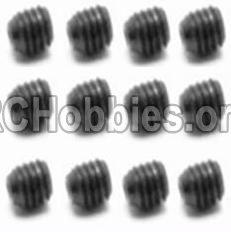 HaiBoXing HBX 12812 Screw Set Screw-3X3mm-S016