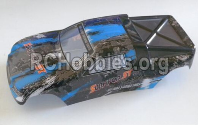 HaiBoXing HBX 12812 Truggy Body shell,Car shell-Blue 12686