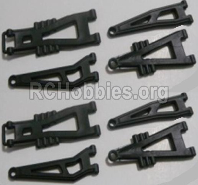 HBX 12813 Front And Rear Suspension Arms,Front And Rear Swing Arm(Total 8PCS) 12603