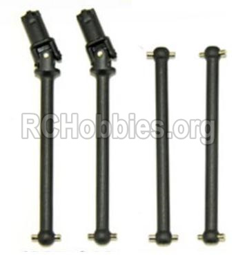 HBX 12813 Front Drive shaft,Front dog bone-& Rear drive shaft-