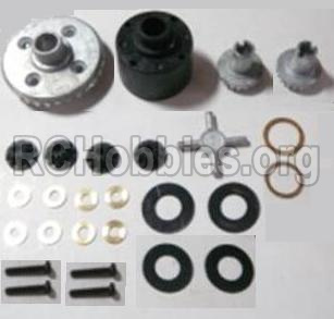 HBX 12813 Differentials Gear set 12611R