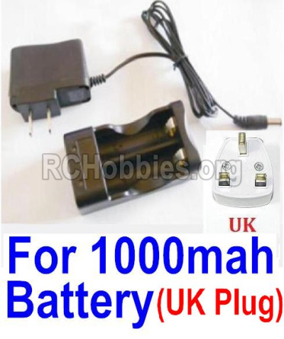 HBX 12813 Charge Box and Charger(United Kingdom Standard Socket)-(Can only be used for 1000mah Battery) 25209
