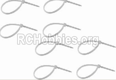 HBX 12813 Zip Ties-Small(8pcs) P011