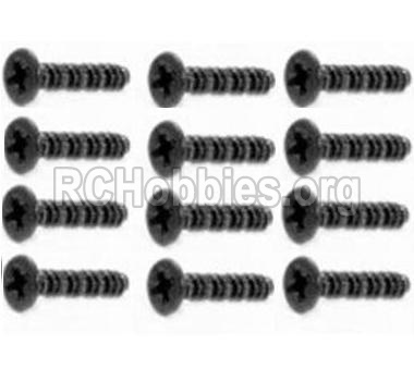 HBX 12813 Screw Countersunk Self Tapping Screw 2X15mm-S011