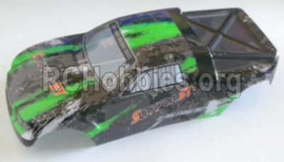 HBX 12813 Body shell cover Buggy Body shell,Car shell-Green 12685
