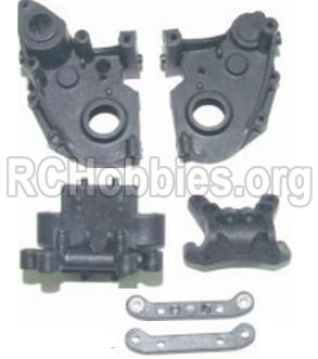HBX 12881 VORTEX Gear Case & Suspension Mount 12005P