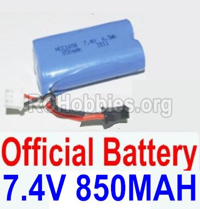 HBX 12881 VORTEX Battery 7.4V 850mah Battery-12032N