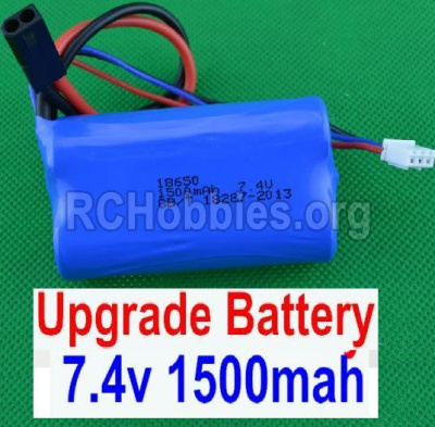 HBX 12881 VORTEX Battery Upgrade 7.4V 1500MAH Battery-12225