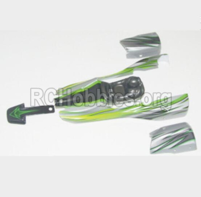 HBX 12881 VORTEX Body Shell Car canopy,Shell cover-Green 12041