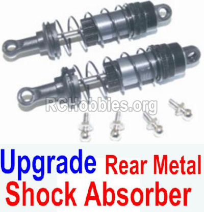HBX 12882P ONSLAUGHT Upgrade Rear Metal hydraulic shock absorber-12204