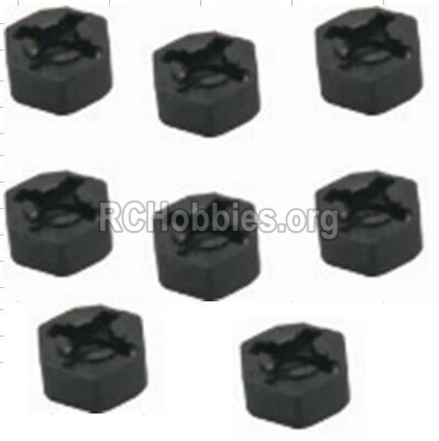 HBX 12882P ONSLAUGHT Hexagon Wheel Seat(8pcs) 12010
