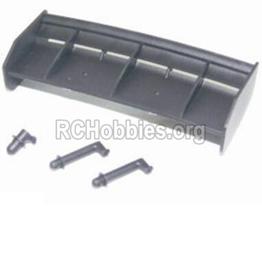 HBX 12882P ONSLAUGHT Tail wing & Column for the Car canopy 12013