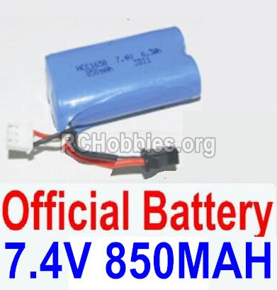 HBX 12882P ONSLAUGHT Battery 7.4V 850mah Battery-12032N