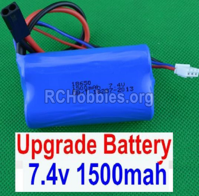 HBX 12882P ONSLAUGHT Battery Upgrade 7.4V 1500MAH Battery-12225