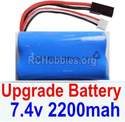 HBX 12882P ONSLAUGHT Battery Upgrade 7.4V 2200mah Battery-