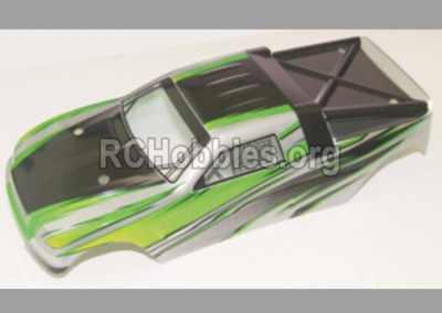 HBX 12882P ONSLAUGHT Body shell Car canopy,Shell cover-Green 12071
