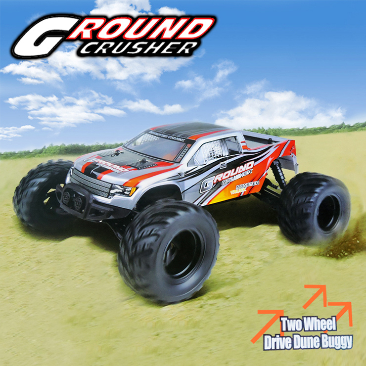 HBX 12883 GROUND CRUSHER RC Car Buggy,1/12 Haiboxing HBX 12883P GROUND CRUSHER Electric 4WD Off-Road Truck-Orange Color