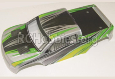 HBX 12883 GROUND CRUSHER Body Shell Car canopy,Shell cover-Green 12081