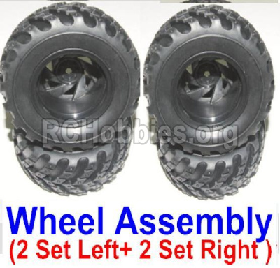 HBX 12883 GROUND CRUSHER wheel,Left and Right wheel assembly-12059