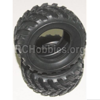 HBX 12883 GROUND CRUSHER tire lether-Not include the Wheel Hub 12057