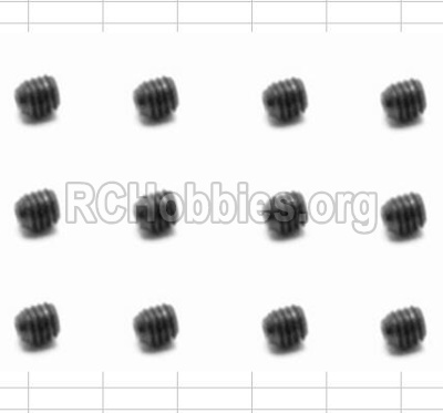 HBX 12883 GROUND CRUSHER Screws Set Screw-3X3mm-S016