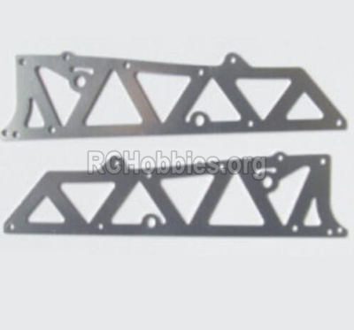 HBX 12885 Iron Hammer Aluminum Alloy Chassis Side Plates A 12210