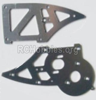 HBX 12885 Iron Hammer Aluminum Alloy Chassis Side Plates B 12211