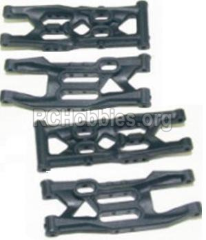 HBX 12885 Iron Hammer Front Bottom And Rear Bottom Suspension Arms,Front Bottom And Rear Bottom Swing Arm-12004
