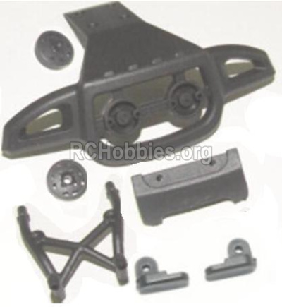 HBX 12885 Iron Hammer Front or Rear Anti-collision frame 12053
