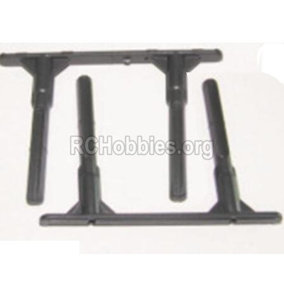 HBX 12885 Iron Hammer Side Plate Holders(Short course truck) 12062