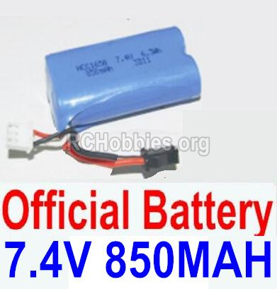HBX 12885 Iron Hammer Battery 7.4V 850mah Battery-12032N