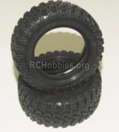 HBX 12885 Iron Hammer tire lether-Not include the Wheel Hub 12063