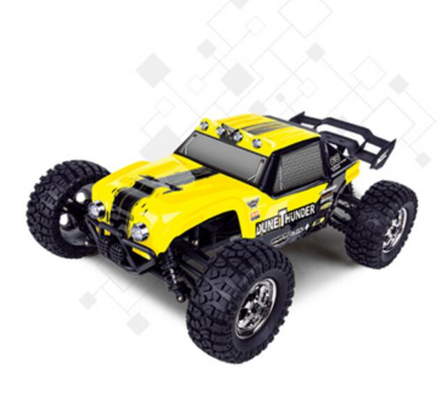HBX 12891 Dune Thunder RC Car Buggy,1/12 Haiboxing HBX 12891P Dune Thunder Electric 4WD Off-Road Truck-Yellow Color
