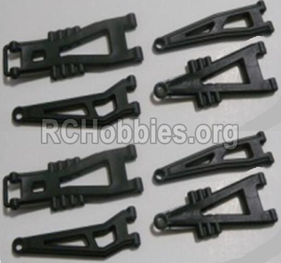 HBX 12891 Front And Rear Suspension Arms,Front And Rear Swing Arm(Total 8PCS) 12603