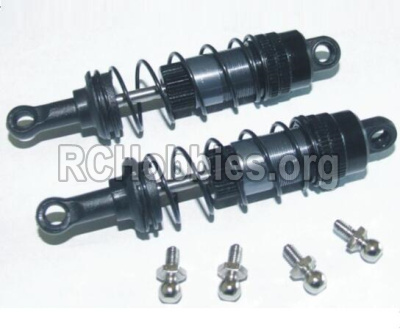 HBX 12891 Upgrade Metal Front Aluminium shock set-12203BT